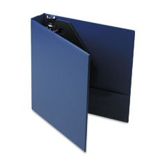 Universal D-Ring Binder w/Label Holder, 1-1/2in Capacity