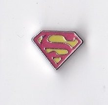 (Superman Floating Charm)