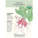 French Breakfast Radish Seeds - 5 grams - Organic