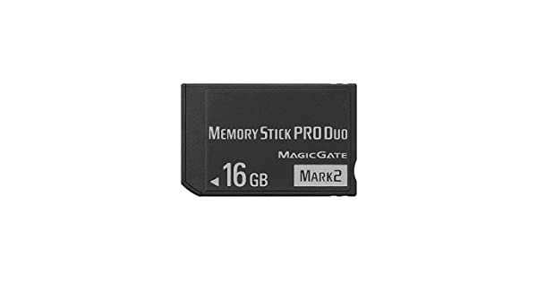 Amazon.com: Alta velocidad 16 GB Memory Stick Pro Duo (Mark2 ...