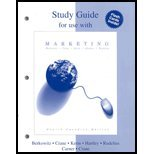 Study Guide for Use with Marketing, Fourth Canadian Edition 9780070860469