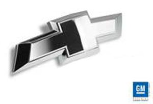Bowtie Rear Tailgate Emblem 2014-2015 Chevy Silverado 1500, 15-17 2500 HD , 3500 HD (Polished)