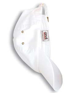 Anvil 156 Twill 6-Panel Low Profile Cap White One Size