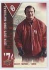 Barry Switzer (Football Card) 2011 Upper Deck University of Oklahoma - National Champions #NC-SW