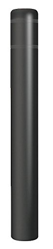 Encore Commercial/Post Guard - CL1386CC - 60H High Density Polyethylene Bollard Cover For Post Size with 7 dia, Black