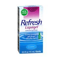 (Refresh Refresh Liquigel Lubricant Eye Drops, 15 ml (Pack of 3))