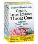 Traditional Medicinals Tea Throat Coat Lemon