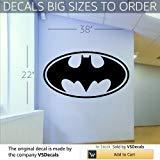 Vinyl Decal Mural Sticker Batman Kids Room S109 - Mural Batman