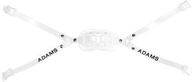 Adams USA PRO 100 4D 4 Point High Football Chin Strap with D Rings