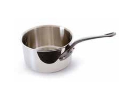 Mauviel M'Cook Saucepan 18 Cm With Lid (Handle: Cast Iron) by Mauviel USA