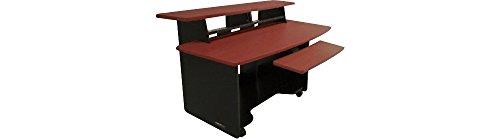 Omnirax Presto 4 Studio Desk Mahogany Pcpartpicker