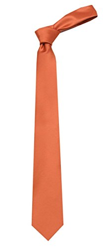 Mens XL Solid Color Long Necktie Extra Long Ties for Business Casual Formals and Weddings by Buy Your Ties