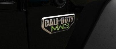 Jeep Chrysler Dodge Call Of Duty Modern Warfare MW3 Emblem GENUINE MOPAR OEM NEW (Jeep Wrangler Call Of Duty Mw3 Special Edition)