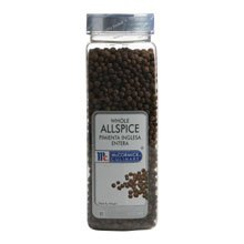 McCormick Whole Allspice - 12 oz. container, 6 per case