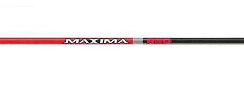 CARBON EXPRESS MAXIMA RED MATHEWS 250 SHAFTS 12 PK