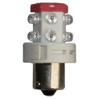 Red LED Bulb, BA15S, 24VDC, LD-2782-102, Indoor by LEDAndon