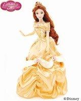 Brass Key Disney Enchanted Tales 'Belle' Gold Collection Porcelain Doll Disney Enchanted Tales Belle