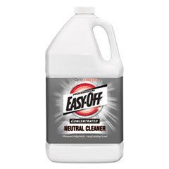Professional EASY-OFF Concentrated Neutral Floor Cleaner, 1 gal Bottle, 2/Carton