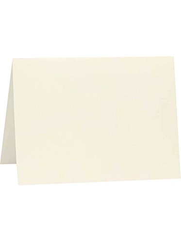 A7 Folded Card (5 1/8 x 7) - Natural (50 Qty) | Perfect for Personal Stationery, Invitation Suite Inserts & Casual Correspondence! | A7FN-50