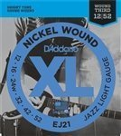 (3 Sets of D'Addario EJ21 Jazz Guitar Strings Light Round)
