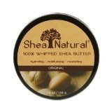 Shea Natural Whipped Shea Butter Original Fragrance-Free, 7 Ounce