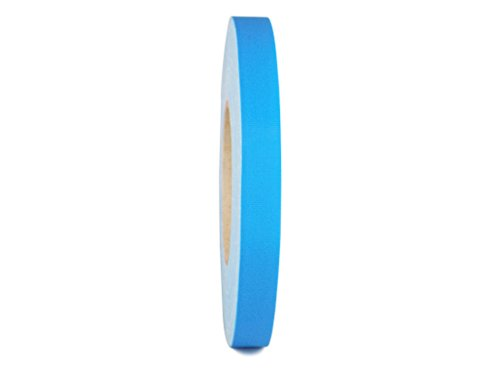 T.R.U. CGT-80 Light Blue Gaffers Stage Tape with Rubber Adhesive, 3/4 in. wide x 60 Yards length, 12MIL Thickness (Pack of 1)
