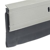 Frost King A62/36SN Premium Extra Wide Aluminum and Vinyl Door Sweep 2-Inch by 36-Inch,, Satin (Nickel Sweep)