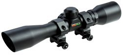 TruGlo Crossbow 4X32 Scope with Rings, Black - TG8504B3
