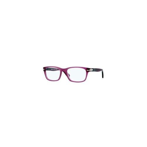 3012 Persol Violet Montures Grey Pour de Tortoise lunettes Striped 990 Homme 52mm Matte RRatFqnr