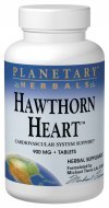 Hawthorn Heart Planetary Herbals 120 Tabs