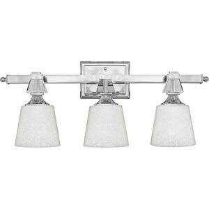 Quoizel DX8603C Deluxe Vanity Bath Lighting, 3-Light, 300 Watts, Polished Chrome (10
