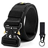 Fairwin-Tactical-Belt-for-Men-Military-Style-Nylon-Web-Belt-with-HeavyDuty-QuickRelease-Metal-Buckle