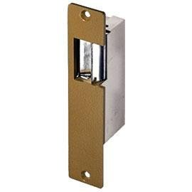 12 Access Single Black Door (Trine 001-8-16VAC/4-6VDC Standard Electric Strike (Fail Secure))