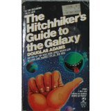 Book Cover for The Hitchhikers's Guide to the Galaxy