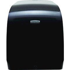K-C PROFESSIONAL MOD Manual Touchless Hard Roll Towel Dispenser - Smoke - 12.66\