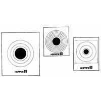Hoppe's No. 9 Official Competition 50-Feet Target Paper (20 (Hoppes Rifle Target)