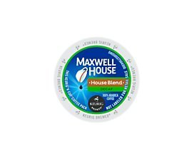 Maxwell House House Blend Decaf Coffee K-Cups, 24 Count [Ships in Manufacturer's Retail Packaging] Maxwell House Decaffeinated Coffee