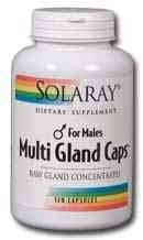 Solaray - Multi Gland Caps (For Males), 120 capsules