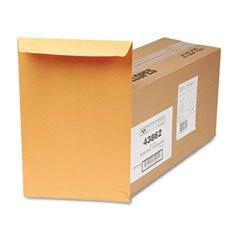 Quality Park Redi-Seal Catalog Envelope, 10 X 15, Brown Kraft, 250/box
