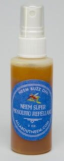 Neem Oil - Buzz Off - Natural Insect Repellent and Bug Spray Deet Free with Free Travel Size Neem Oil Soap (2 oz Travel Size)