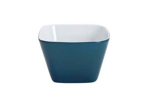 (KAHLA Abra Cadabra Small Dish Angular 2-1/4 by 2-1/4 Inches, Green Blue Color, 1 Piece)