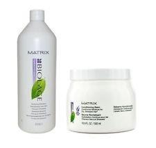 Matrix Biolage Hydratherapie Hydrating Shampoo 33.8oz and Conditionin Balm 16.9oz Set by Matrix [Beauty]