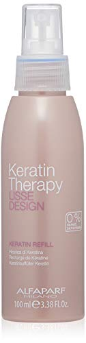 ALFA PARF Lisse Design Keratin Therapy-Keratin Refill Hair Spray for Unisex, 3.38 Ounce by Alfaparf Milano