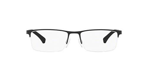 Óculos De Grau Emporio Armani Ea1041 3175 Preto Lentes Tam 55