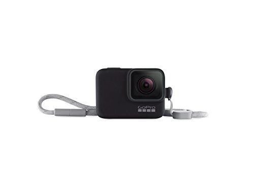 GoPro Sleeve + Lanyard in Black (Gopro Official Accessory)