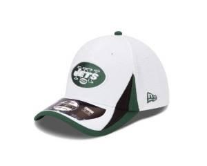 NFL New York Jets NFL13 Training 39Thirty Flex Fit Cap, Medium/Large