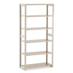 * Regal Shelving Add-On Unit, 6 Shelves, 36w x 15d x 76h, Sand