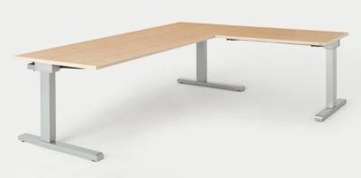mauser schreibtisch verkettet bxt 2000 x 800 mm winkelansatz rechts breite 1000 mm. Black Bedroom Furniture Sets. Home Design Ideas