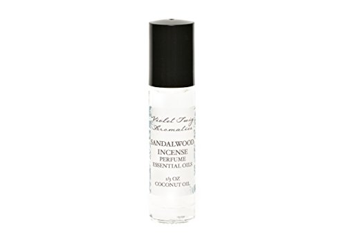 Organic Sandalwood Incense Oil - Men's Rollerball Oil - Nag Champa Incense - Essential Oil Perfume - Women's Perfume - Cologne for Men by Violet Twig Aromatics (Image #3)