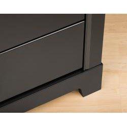 Nicola Black 6-drawer Dresser